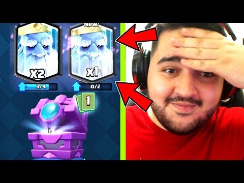 IRAPHAHELL DESCHIDE ROYAL GH0ST-UL DIN FORTUNE CHEST - CLASH ROYALE !