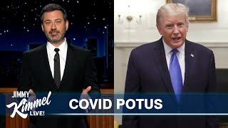 Jimmy Kimmel on Trump's COVID-19 Diagnosis