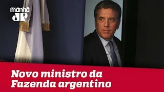 Argentina apresenta novo ministro da Fazenda