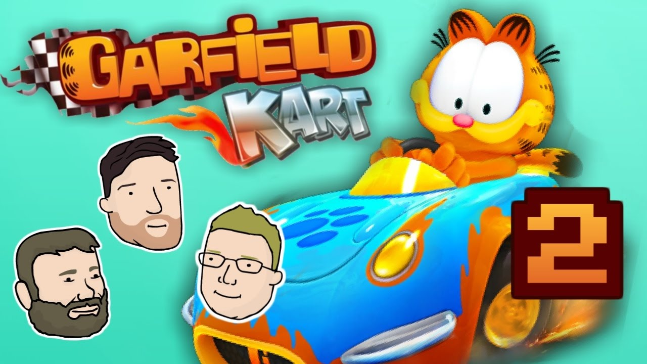 Let S Play Garfield Kart Part 1 Maximizing Lasagna Intake 2 Left Thumbs Youtube