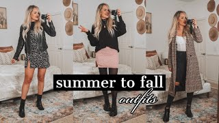 How to style SUMMER clothes in FALL/WINTER! 2019 styles!