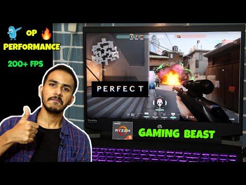 Gaming Review🔥On HP Pavilion Ryzen 5 4600H | HP Pavilion 15-ec1050ax/51ax Gaming On NVIDIA 1650Ti