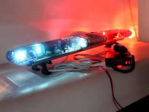 Red blue police rotator lightbar tbd ga 110z pa300 uj siren with red blue police rotator lightbar tbd ga 110z pa300 uj siren with 100w speaker to nigeria market aloadofball Choice Image