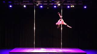 2018 US Pole Dance Championship Novice Level 2 Sexy Division - Emily C