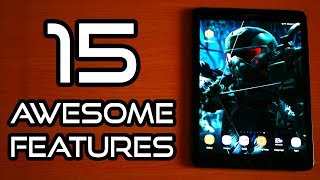 🔻15 Awesome Features of Samsung Galaxy Tab S3 (Android 8 Oreo)! | Tricks!🔺