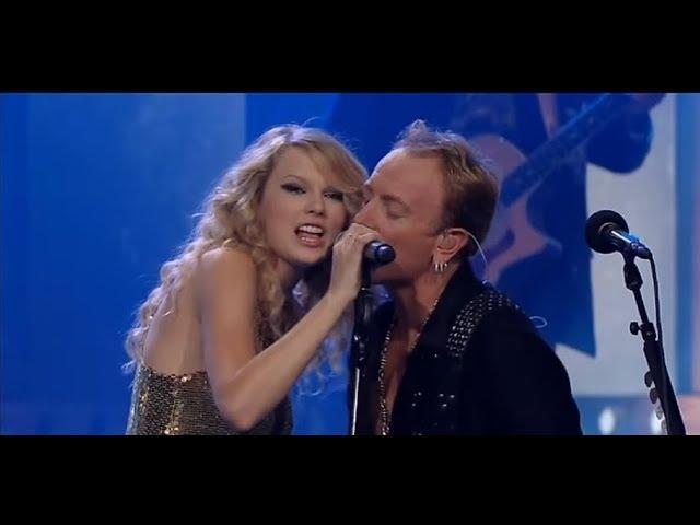 Def Leppard ft Taylor Swift Hysteria Live Chords - Chordify