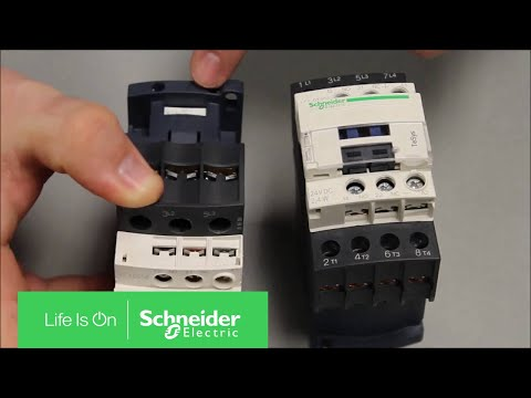 Locating the TeSys D Line IEC Contactor Model Number | Schneider Electric Support