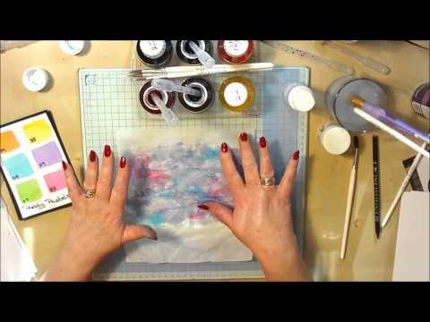Spectrum Noir Aqua Tints - My Crystal Technique