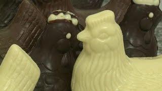 Pâques: la tendance du chocolat blanc