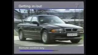 BMW 7 Series Operational Video 1997 Edit