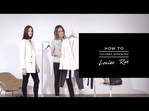 HOW TO: Wear Tailored Separates - REISS
