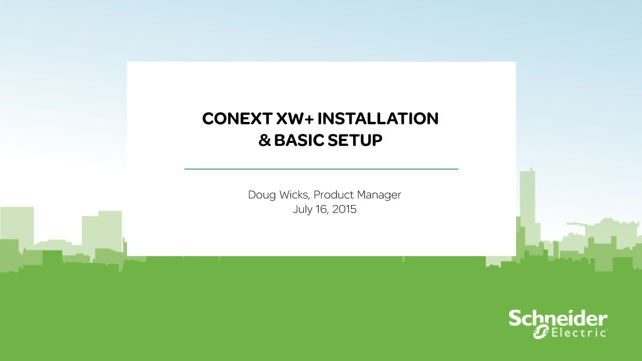 maxresdefault webinar replay] conext xw installation & basic setup youtube Gateway M 6848 at alyssarenee.co