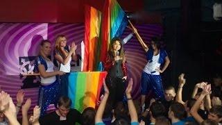 Наташа Королева на БИС в гей клубе Питера  ЦС /  12.2010  сиреневый рай БИС