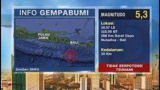 Gempa Magnitudo 5, 3 Guncang Bali