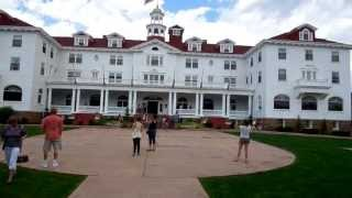 At The Stanley Hotel ( Inspiration for the Shining )