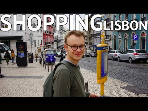 FINDING THE BEST SHOPS IN LISBON! Day 3
