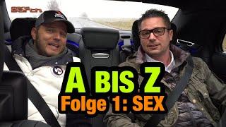 """Das """"A bis Z""""-Spiel mit Mario und Simon /// Folge 1: Sex"""