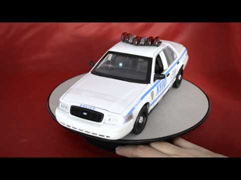 Ford Crown Victoria  NYPD 1:18 With Ligths And Sound