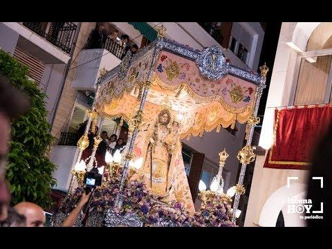 VÍDEO: Fiestas Aracelitanas 2019. Llegada de la procesión a la Plaza Nueva y fuegos artificiales