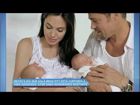 Hora da Venenosa: Brad Pitt está curtindo a vida adoidado após separação, segundo revista
