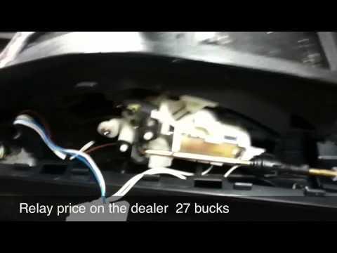 Shift Lock Problem Phatfinder 2001 Youtube