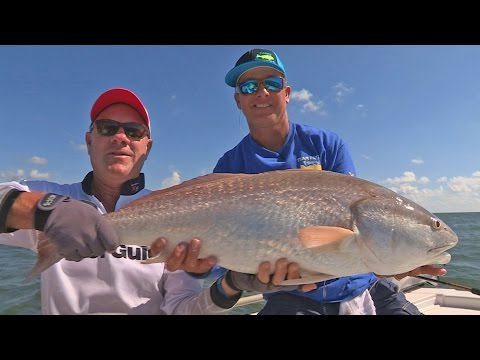 FOX Sports Outdoors SouthEAST #35 - 2016 Galveston Texas Bull Redfish Fishing