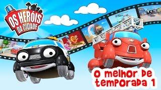 Os Heróis da Cidade | O melhor de temporada 1 | Desenhos Animados | Desenhos em Português