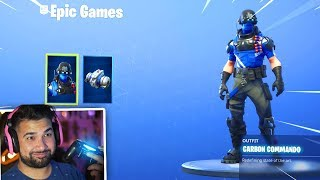 The New FREE PS4 Skin bundle in Fortnite..