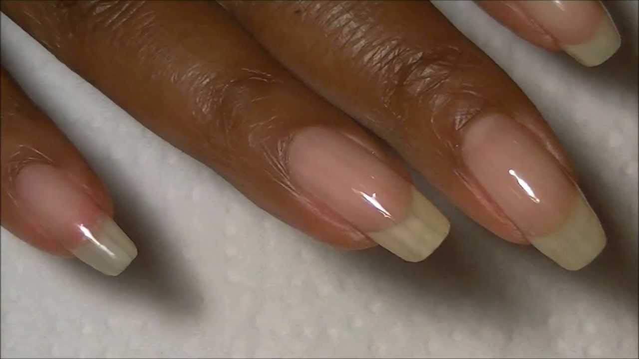 VITAGEL GELISH NAIL REVIEW # 4 & CRACKED NAIL REPAIR w/ Teabag - YouTube