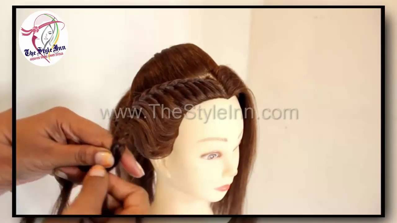 north indian bridal hairstyle | latest bridal hairstyles 2016 | indian bridal hairstyles | hairstyle