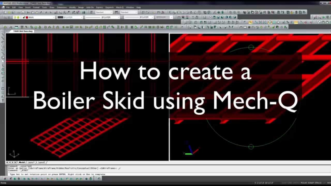 Skid Assembly in Mech-Q (Part 1)
