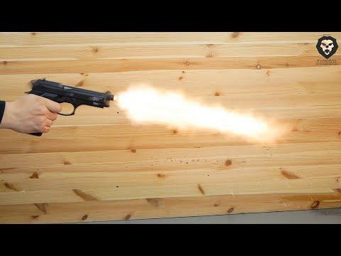 Охолощенный пистолет Retay Mod 92 Beretta видео обзор