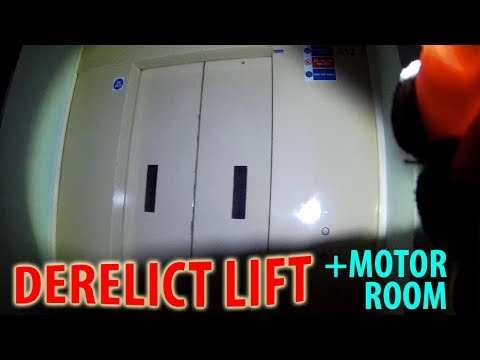 a-derelict-lift-with-door-close-on-the-outside?!-+motor-room