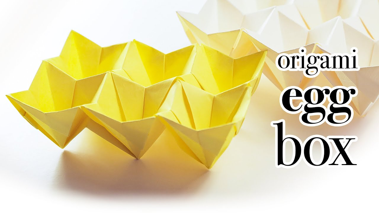 origami easter egg box tutorial modular ��� diy ��� youtube