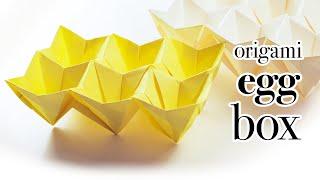 Origami Easter Egg Box Tutorial (Modular) ♥︎ DIY ♥︎