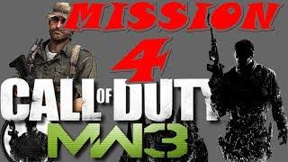 Call of Duty Modern Warfare 3 Gameplay Walkthrough | Mission 4 | Turbulence