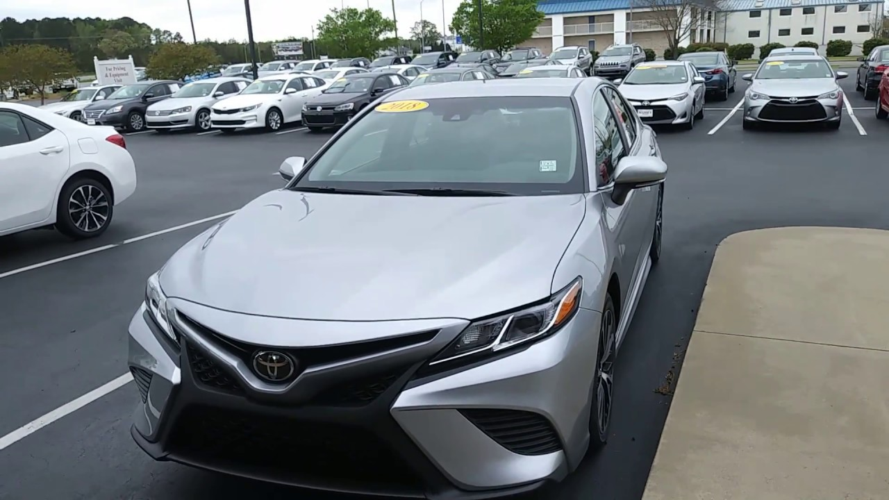 Jerry Bass At Massey Toyota In Kinston, N.C. On The 2018 Camry