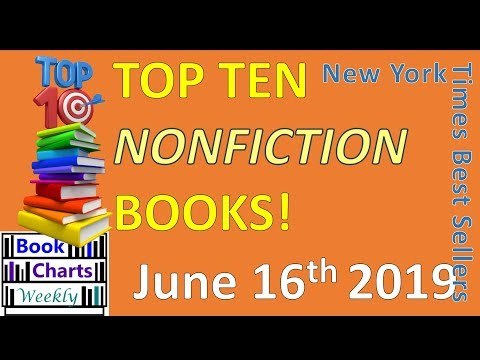 Top 10 Books to Read - NONFICTION: June 16th 2019 - YouTube