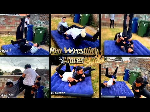 UCW: Top 80 Professional Wrestling Moves
