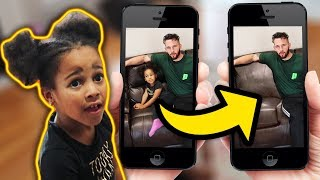INVISIBLE PRANK ON CALI! *best reaction*