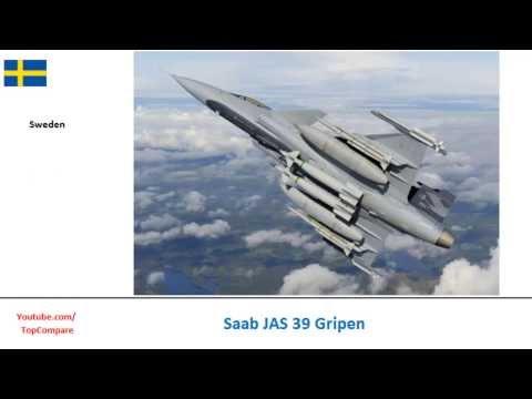 Saab JAS 39 Gripen versus Eurofighter Typhoon, Multirole Fighter specs comparison