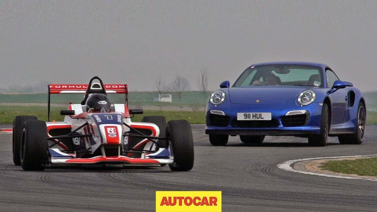 Can Porsche S 911 Turbo S Outrun A Formula 4 Car Youtube