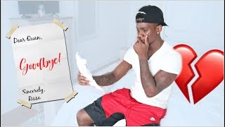 Leaving My Boyfriend With ONLY A Goodbye Letter! 💔