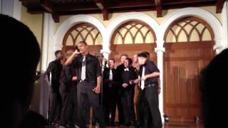 "Ursinus Bearitones ""Some Nights"" (Fun.)"