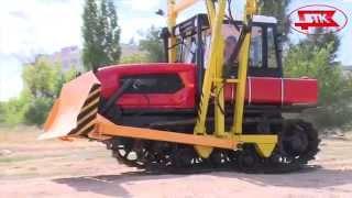 Трубоукладчик на тракторе  ДТ-75(, 2014-10-13T10:41:32.000Z)