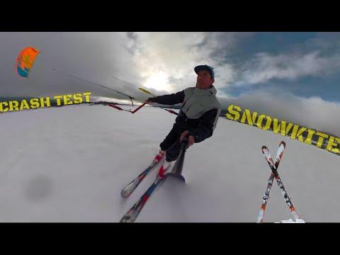 Du SNOWKITE avec des SKIS ? | CRASH TEST | LAB TV ⭐