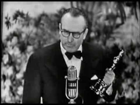 Harold Lloyd receiving an Honorary Oscar®