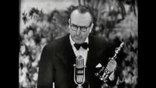 Harold Lloyd receiving an Honorary Oscar®