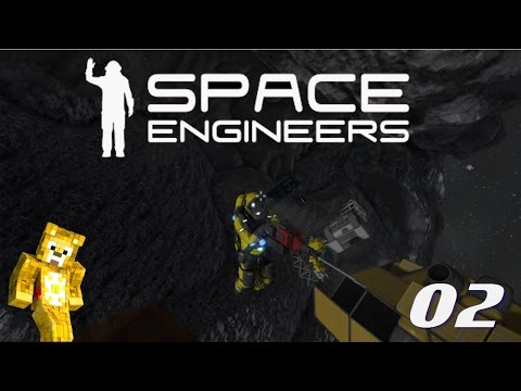 Let's Play Space Engineers - Ep02 - Ore Detector and Starting a Base
