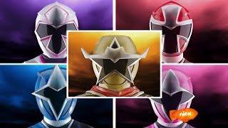 Power Rangers Ninja Steel - All Morphs and Roll Calls   Episodes 1-22   Superheroes